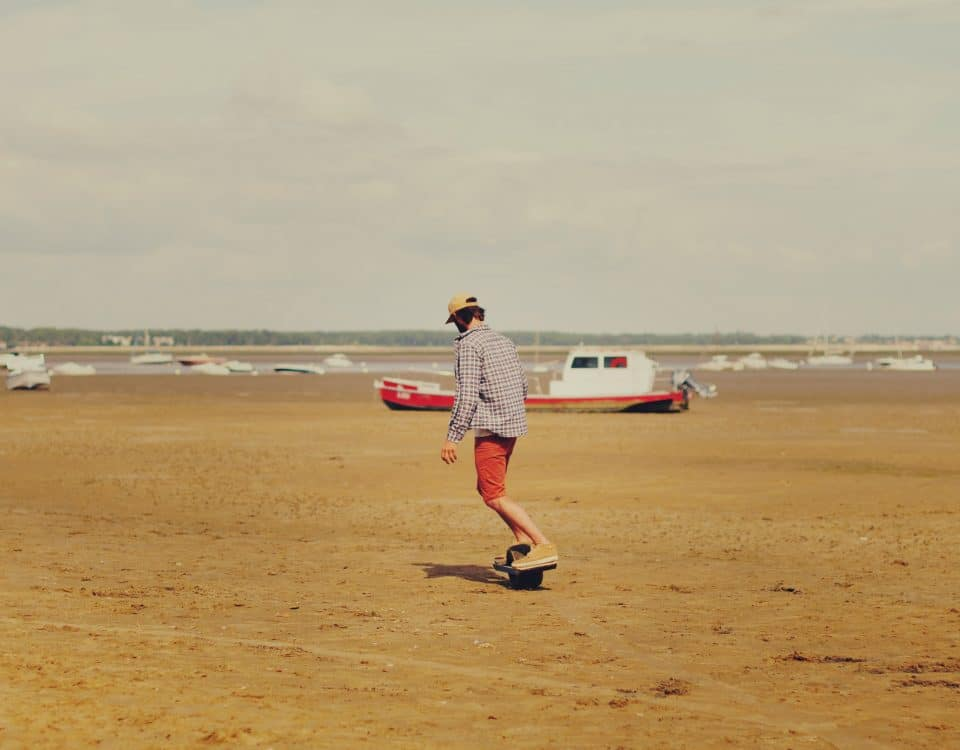 Photo Onewheel à la plage - Samuel