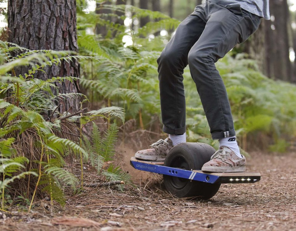 Session Onewheel en foret